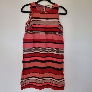 NWT Ann Taylor Loft petite striped dress
